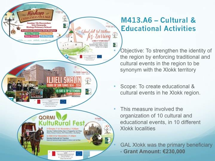 M413 A6- Cultural and Educational Activities | GAL XLOKK
